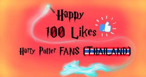 My 100 likes on facebook celebrating picture by Music-Piyada