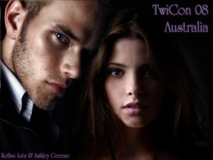 TwiCon 08   Ashley and Kellan by MystAngel - Ashley Greene [Twilight-Alice Cullen]