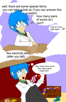 how many pairs of socks do i own? by comics-art-girl