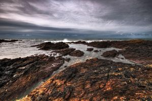 On The Rocks by taffmeister