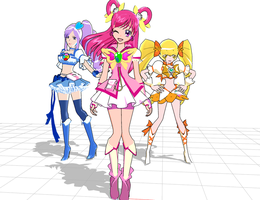 Precure Love by chatterHEAD