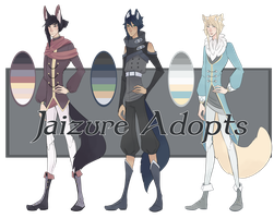 Adopts12 CLOSED (3/3 sold) by Jaizure