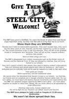 Steel City Welcome flyer by Remember68DFR