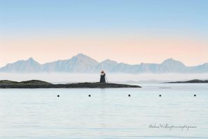 Arctic Lighthouse by Stridsberg