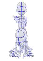 Domination Pose Reference (deformed) by Vash-Crowley