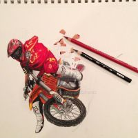 Ryan Dungey by austindeh