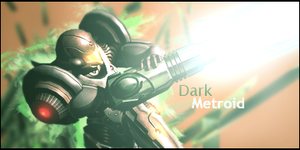 Dark Metroid Signature by murr3