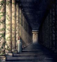 Hall of Pillars by ti-DESIGN