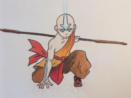 Aang! from Avatar by MarcoHauwert