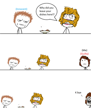 Rage Comic: When your parents assume things....... by Seinari