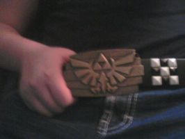 Triforce on my Belt by ScarletxGrimm