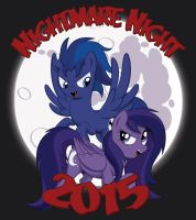 Commission: Nightmare Night 2015 by LittleHybridShila