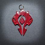 WoW - Horde faction pendant by SuperSiriusXIII