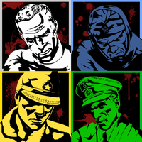 COD: Soldiers in Stencils by Insert-Food