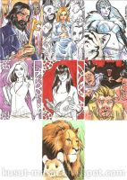Grimm Fairy Tales Sketch Cards 02 by Celestial4ever