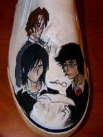 Marauders Shoes pt. 1 by DevilWillPay10