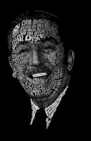 Walt Disney Calligram by immoneekart