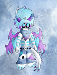 Himesh the Ice Demon by DeathPhantom