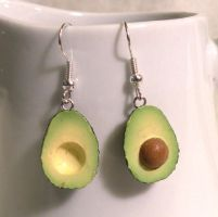 Avocado Earrings by AsianBunni