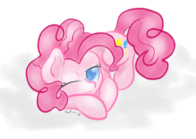 Calm Pinkie by MartianSketchPones