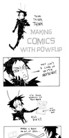 Making Comics with Powflip by PowFlip
