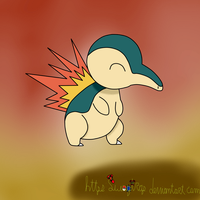 Cyndaquil by Swagtrap