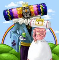 Katamari Family Portrait by galazy
