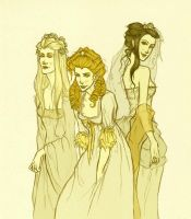 The Brides of Dracula by hwilki65