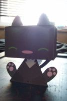 spike cat paper toy_1 by armadilloboy