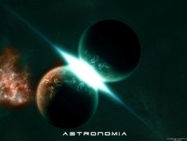 Astronomia Wallpaper by skurvy
