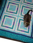 Floating Frames Quilt Top by BaronessaGinevra