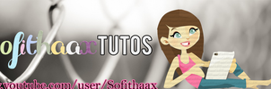 Vintage Banner for youtube by sofithaax PSD by SofithaaxTutoriales