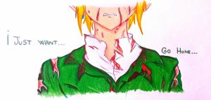 I Just want..go home - BEN Drowned by ImMoonwalker