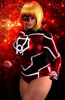 Red Daughter of Krypton, Red Lantern Supergirl #2 by CinVonQuinzel