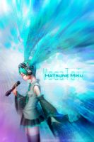 Hatsune Miku - beyond heart by dinmoney