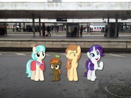 Rarity takes Hannover by Phi1997