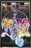 Mane 6 -Assemble- by Wildy71090