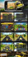 Whacksy Taxi iphone game by workstation