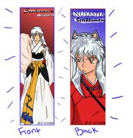 Inuyasha bookmark complete by Redstar95