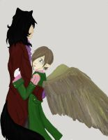 Rescuing Angel by Torenchiko-to