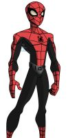 The New Dynamic Spider-Man by stick-man-11