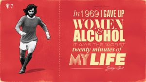 George Best Quote. by JohnnyMex