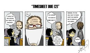 'The 233' - Timesheet Due 2 by NK-C