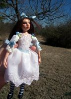 Little Alice doll. Commission. by Rhissanna