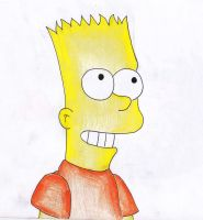 Bart Simpson by Nekoyascha
