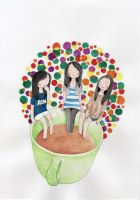 Three In A Cup by Syluns