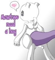 Little Mewtwo by FlyingRotten