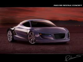 Audi r8 Restyle concept by Radeon6700