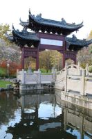 Chinese garden Stock 35 by Malleni-Stock