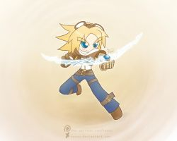 Weekly art#2 Ezreal by HowXu